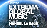 Extrema Global Music Mixed by Manuel Le Saux - on sale July 2014